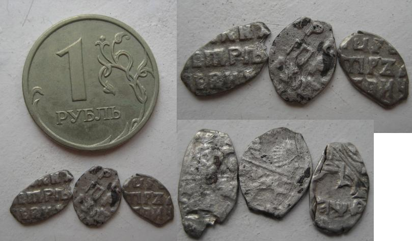 Петровская чешуя нашли клад дома