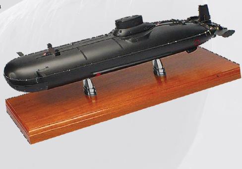 Брелок субмарины в подарок на день подводника
