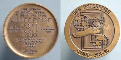 24 сентября 1960 — В США на воду спущен первый атомный авианосец «Энтерпрайз»....jpg