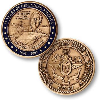 22 октября 1964 Строительство начато Джон Кеннеди (авианосец).jpg