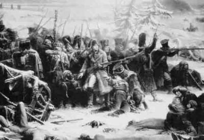 11 Солдаты маршала Нея загнаны в лес..jpg