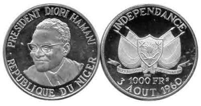 16 ноября 1960  1-й Президент Нигера  Амани Диори.jpg
