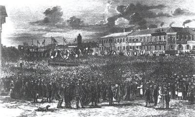 Неизвестный художник. Открытие памятника А.С. Пушкину в Москве 6 июня 1880 г..jpg