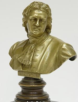 Опекушин А.М. Скульптурный бюст «Петр I» 1872 г..jpg