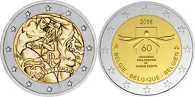 10 декабря 1948 года Декларация прав человека  Италия 2008 2 евро.jpg