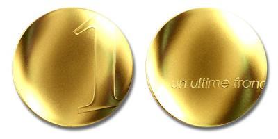 1 января 1999 введение евро франции (Un Ultime Franc).jpg