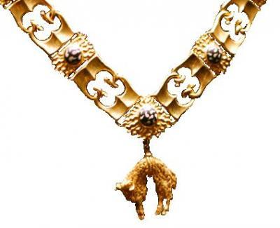 Герцог Бургундский Филипп III Добрый учредил орден Золотого руна..jpg