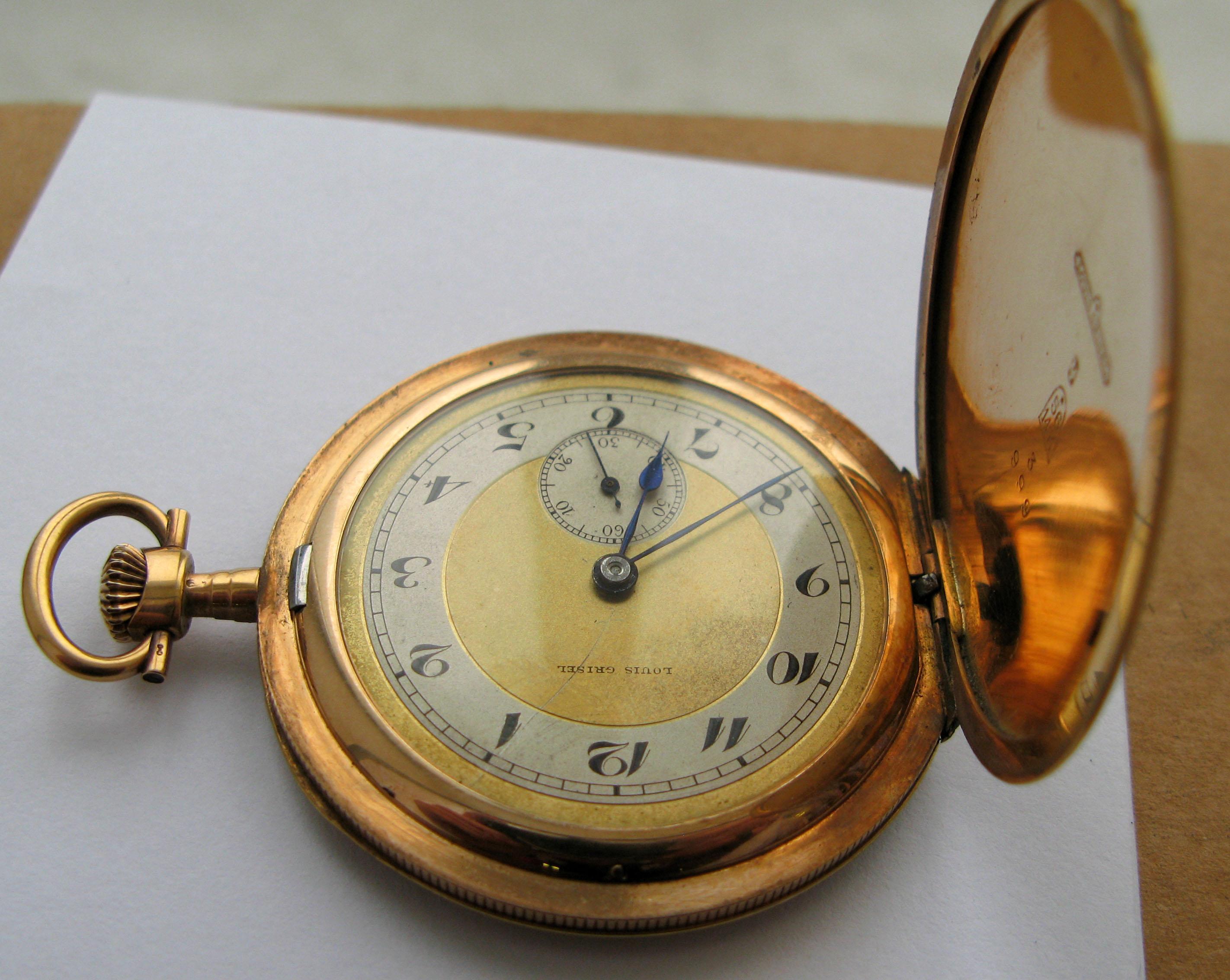 Золотые часы Louis Grisel - forumkladoiskatelru