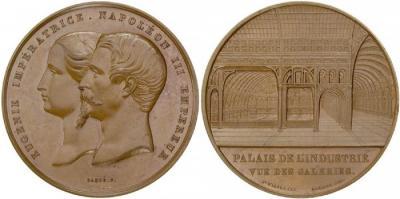 1853 — в соборе Парижской Богоматери 45-летний император Франции Наполеон III обвенчался с испанской графиней Евгенией Монтихо.jpg