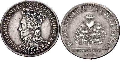 2 февраля 1626 — Коронация Карла I, английского короля..jpg