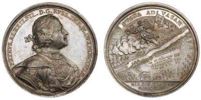 19 февраля 1714 года — Взятие последнего шведского города на восточном побережье Финляндии – Вазы..jpg