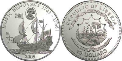 20 сентября 1746 года родился Бенёвский, Мориц Август.jpg