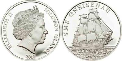 3 октября 1880 года — в Данциге запущен SMS Гнейзенау.jpg