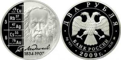 6 марта 1868 — Дмитрий Менделеев представляет Российскому химическому обществу первую версию Периодической таблицы.jpg