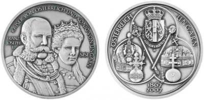 15 марта 1867 года Франц Иосиф I— глава двуединого государства — Австро-Венгерской монархии.jpg