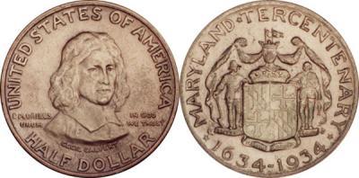 25 марта 1634 английские колонисты основали  поселение Святая Мария (штат Мэриленд).JPG
