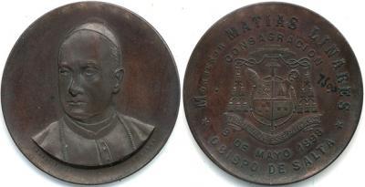 31 августа 1841 года родился Матиас Линарес. Четвёртый Епископ Сальта Аргентина.jpg