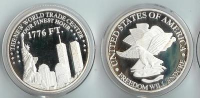 4 апреля 1973 года — в Нью-Йорке (Манхэттен) состоялось открытие Всемирного торгового центра.jpg