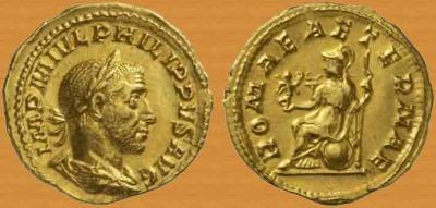 6 апреля 248 года — Римляне отметили тысячелетие своего города..jpg