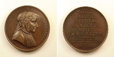 8 апреля 1341 На Капитолийском холме в Сенатском дворце был увенчан лавровым венком Франческо Петрарка.jpg
