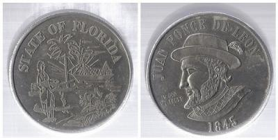 8 апреля 1513 — Мореплаватель Хуан Понсе де Леон объявил Флориду владением Испании.jpg