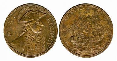 9−12 апреля 1782 Сражение у островов Всех Святых. Джордж Брайджес Родней.jpg