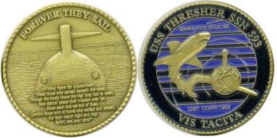 10 апреля 1963 года — Затопление американской атомной подводной лодки «Трешер».jpg