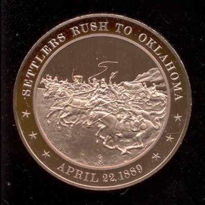 22 апреля 1889 года было объявлено о разрешении заселять индейские земли Оклахому.jpg