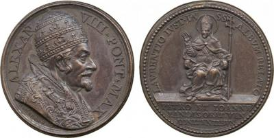 22 апреля 1610  года родился Александр VIII.jpg