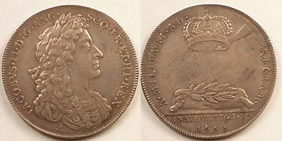 23 апреля 1685 коронация Яков II (король Англии).JPG