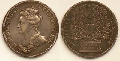 23 апреля 1702 коронация Анна (королева Великобритании).jpg