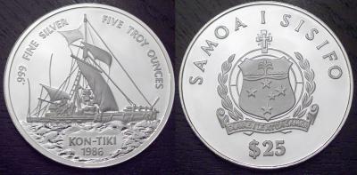 28 апреля 1947 — Тур Хейердал отправился в путешествие на плоту «Кон-Тики»..jpg