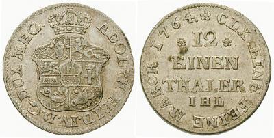 5 мая 1738 года родился — Адольф Фридрих IV, герцог Мекленбург-Стрелицкий.jpg