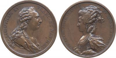 10 мая 1774 года Мария-Антуанетта и Людовик.jpg