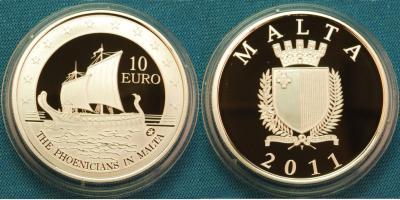 Мальта, «Европейские исследователи» 10 евро 2011..jpg