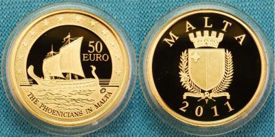 Мальта, «Европейские исследователи» 50 евро 2011.jpg