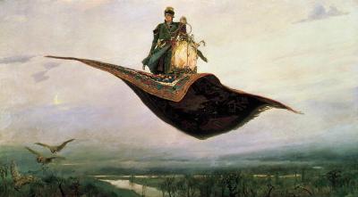 Виктор Михайлович Васнецов. Ковёр самолёт. 1880.jpg