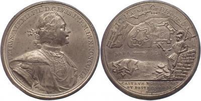 18 мая 1703 года состоялась битва и Первая победа Балтийского флота России. Она стала возможной благодаря взятию крепости Ниеншанц..jpg