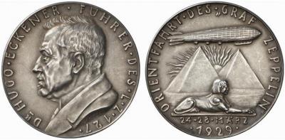 18 мая 1930 года «Граф Цеппелин» совершил круговой перелёт в Южную и Северную Америку..jpg