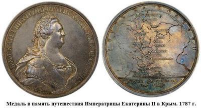 17.05.1787 (Началось путешествие Екатерины II по Крыму.).jpg