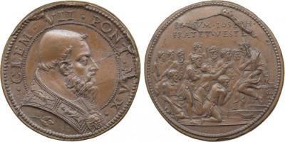 26 мая 1478 года родился — Климент VII (в миру Джулио Медичи) (ум. 1534), папа римский (1523—1534 гг.)..jpg