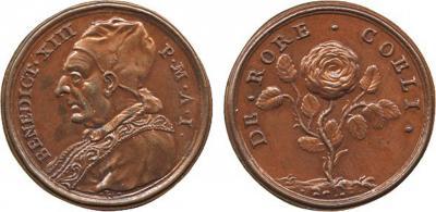 29 мая 1724 года — после смерти папы римского Иннокентия XIII новым папой стал Бенедикт XIII..jpg