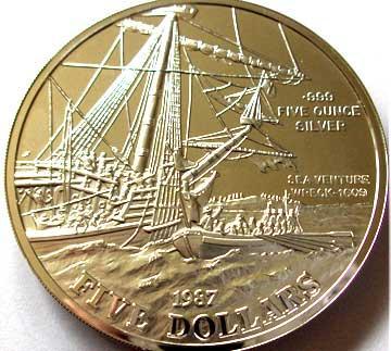 2 июня 1609, Sea Venture отплыл из Плимута Бермуды.jpg