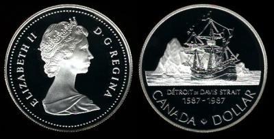7 июня 1585 года — начало первого плавания Джона Дэвиса.jpg