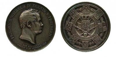 7 июня 1840 коронован Фридрих Вильгельм IV.jpg