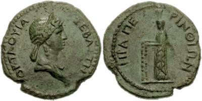 9 июня 62 года — Клавдия Октавия, первая жена Нерона, убита в ссылке по его приказу.jpg