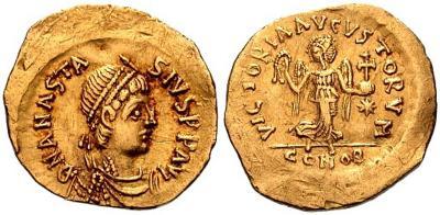 9 июня 518 года умер — Анастасий I.jpg