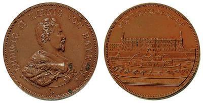 10 июня 1886 года консилиум врачей признал короля Людвига II Баварского сумасшедшим.jpg