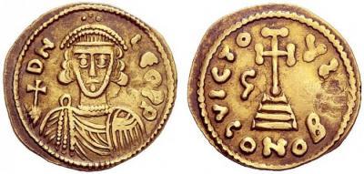 12 июня 816 года умер — Св. Лев III, папа римский.jpg