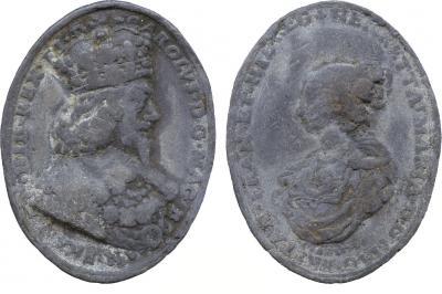 13 июня 1625 года — состоялся брак короля Англии Карла I Стюарта и Генриетты Марии де Бурбон.jpg
